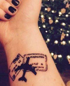 τατουάζ ταξίδι, ediva.gr
