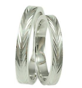 ασημένιο δαχτυλίδι γάμου
