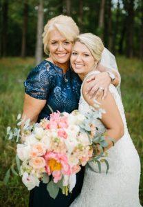 μπλε φορεμα για μητερα νυφης