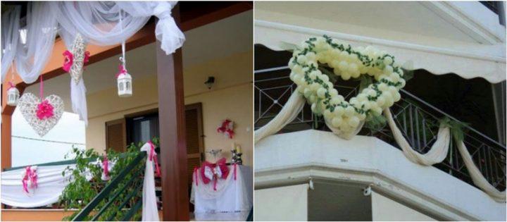 16 Υπέροχες ιδέες για διακόσμηση μπαλκονιού σε γάμο!