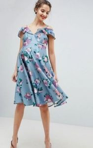 γαλάζιο φόρεμα για μανούλες