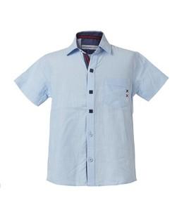 πουκαμισο παιδικο γαλαζιο αμανικο