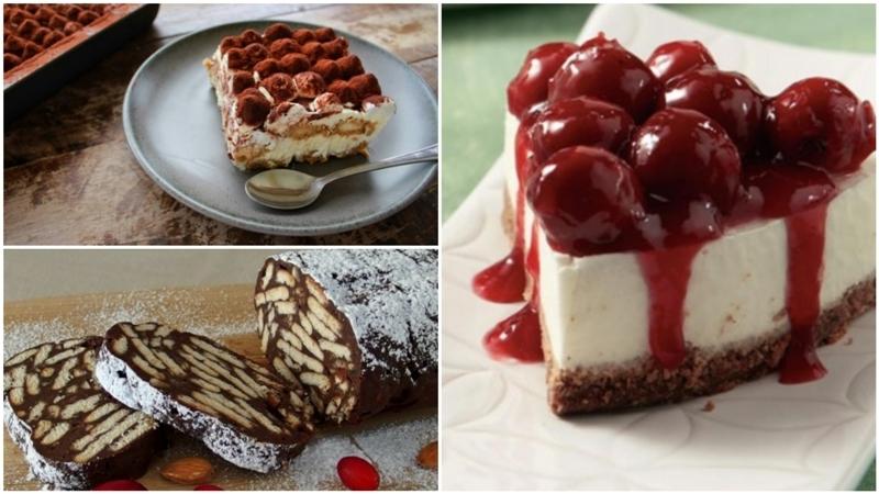 4 συνταγές για γλυκά ψυγείου