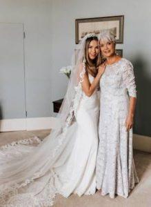 μακρι γκρι ζαχαρι φορεμα για γαμο του παιδιου