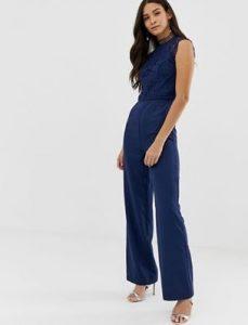 ολόσωμη μπλε σκούρη φόρμα