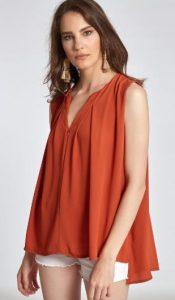 αμάνικη γυναικεία μπλούζα celestino