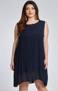 αμάνικο γυναικείο φόρεμα celestino