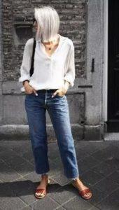 παντελόνι με πουκάμισο