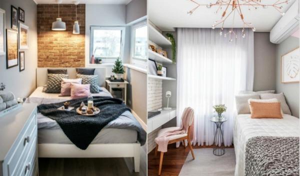 10 Υπέροχες ιδέες για να διακοσμήσεις ένα μικρό υπνοδωμάτιο!