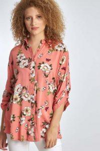 γυναικείο πουκάμισο με σχέδιο Celestino