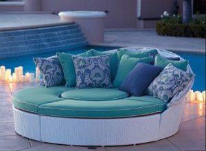 έπιπλα κήπου καναπέδες
