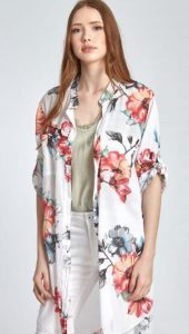 γυναικείο φλορἀλ πουκάμισο