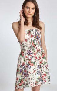 κοντό γυναικείο φόρεμα φλοράλ