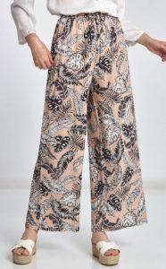 γυναικεία καλοκαιρινή παντελόνα με σχέδιο