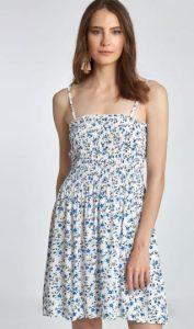 κοντό καλοκαιρινό φόρεμα με τιράντες