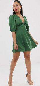 πράσινο φόρεμα γυναικείο