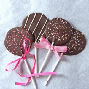 σοκολατένια γλειφιτζούρια
