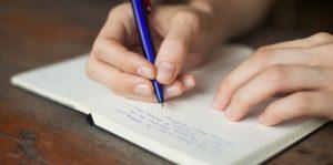 γράψε σκέψεις χαρτί στυλό αντιμετωπίσεις αγχωτικές καταστάσεις
