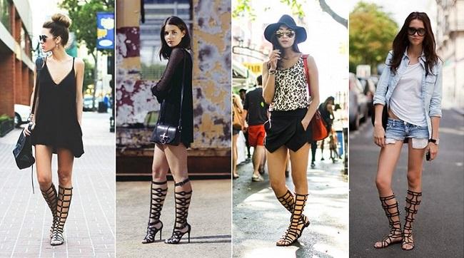 καλοκαιρινό ντύσιμο γυναικεία σανδάλια