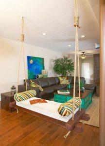 καναπές κούνια εσωτερικού χώρου