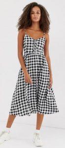 καρό γυναικείο φόρεμα