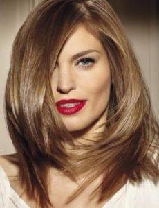 καστανόξανθα γυναικεία μαλλιά