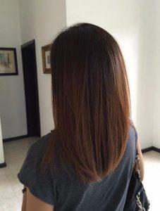 μαλλιά μεσαίου μήκους