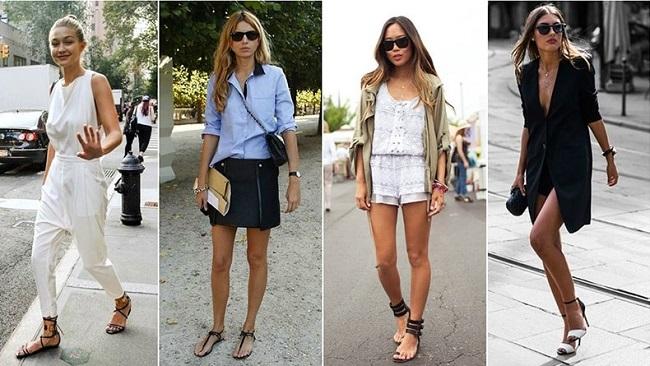 γυναικεία πέδιλα καλοκαίρι ντύσιμο