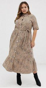 λεοπάρ φόρεμα πουκάμισο καλοκαίρι 2019