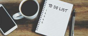 to do list λίστα υποχρεώσεων σημειωματάριο καφές αντιμετωπίσεις αγχωτικές καταστάσεις