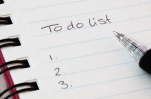 λίστα υποχρεώσεων μικρή αντιμετωπίσεις αγχωτικές καταστάσεις