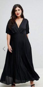 μαύρο maxi φόρεμα επίσημες εμφανίσεις