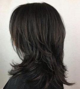 μαύρα φιλαριστά γυναικεία μαλλιά
