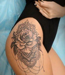 μεγάλο τριαντάφυλλο ταττού