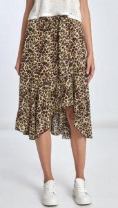λεοπάρ γυναικεία φούστα