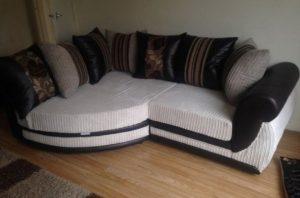μικρός γωνιακός καναπές