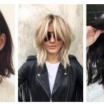 μοντέρνα γυναικεία κουρέματα για μαλλιά μεσαίου μήκους