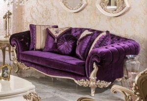 πολυτελής βασιλικός καναπές