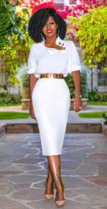 επαγγελματικό ντύσιμο με φούστα