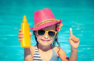 αντηλιακή προστασία για παιδιά