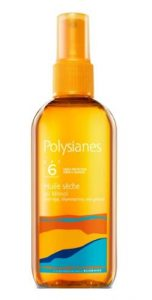 polysianes huile seche Λάδι μαλλιών για προστασία από τον ήλιο