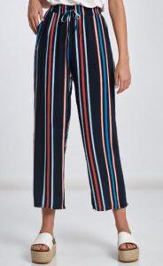 ριγέ χρωματιστό παντελόνι