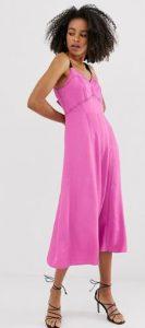 ροζ φόρεμα γυναικείο