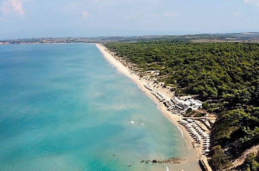 σάνη παραλίες πόρτο πόδι Χαλκιδική νερά