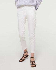 sisley παντελόνι άσπρο καλοκαιρινή collection