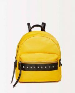 sisley τσάντα back pack κίτρινη καλοκαιρινή collection