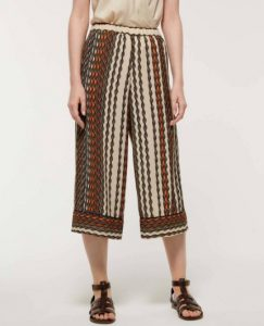 sisley παντελόνι jupe culotte εμπριμέ καλοκαιρινή collection