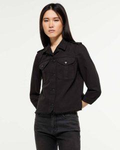 sisley μαύρο τζιν μπουφάν σακάκι jacket καλοκαιρινή collection
