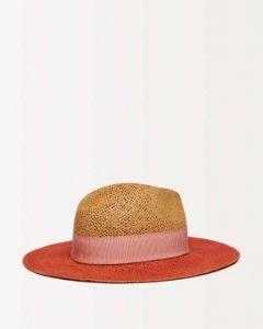 sisley καπέλο παραλία κόκκινο ροζ καλοκαιρινή collection
