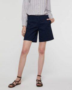 sisley παντελόνι σορτς βερμούδα μπλε καλοκαιρινή collection